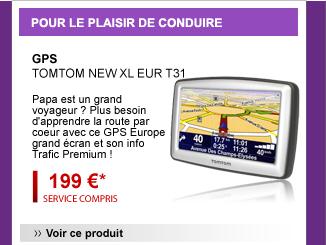 GPS TOMTOM new XL eur T31