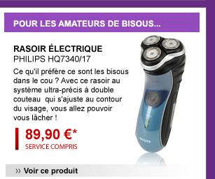 Rasoir électrique PHILIPS HQ7340/17