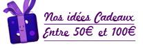 Entre 50 euros et 100 euros