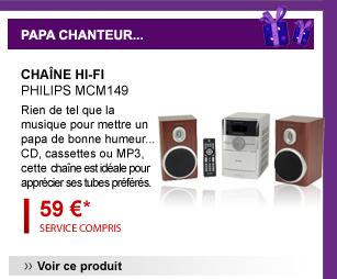 Chaîne Hi-Fi Philips MCM149