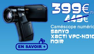 Caméscope Sanyo Xacti VPC HD1010 399€